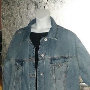 wild fable Jackets & Coats - *One Left!* 4X Wild Fable Distressed Denim Jacket